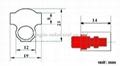 编码防盗塑料铅封,旋转塑料铅封 2