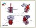 編碼防盜塑料鉛封,旋轉塑料鉛封 4
