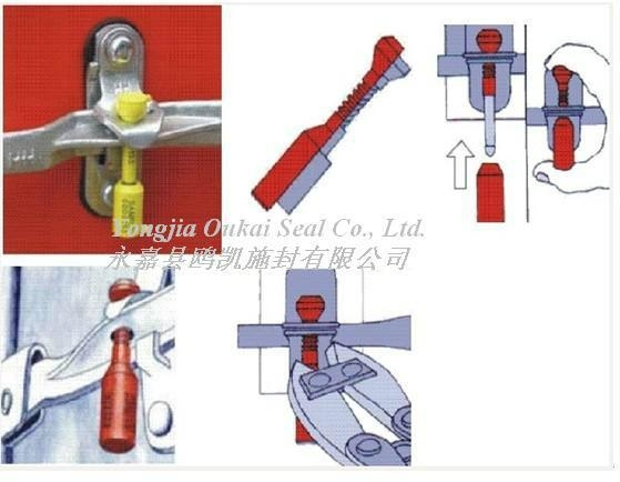 High Security Seal Lock Bolt Seal 4