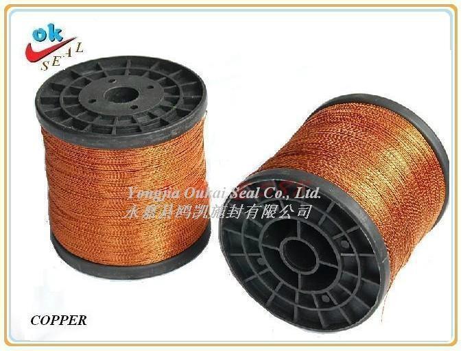 Copper Lead Seal Wire 1