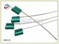 拉力大,钢丝直径2.5mm,新款铝合金钢丝封集装箱封条