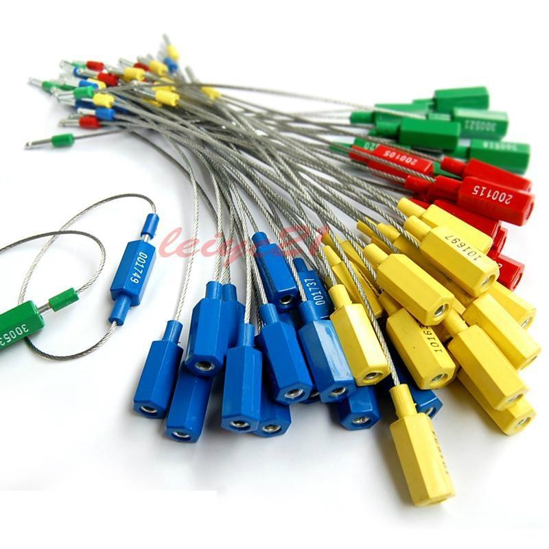 插销式钢丝封,一插即锁,操作方便,牢固可靠 3