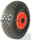 pneumatic rubber wheels