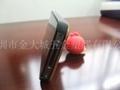 矽膠卡通公仔手機支架