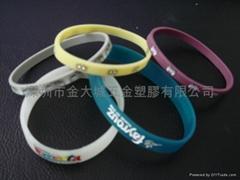 硅胶手腕带,矽胶手环,手镯,手圈,指环