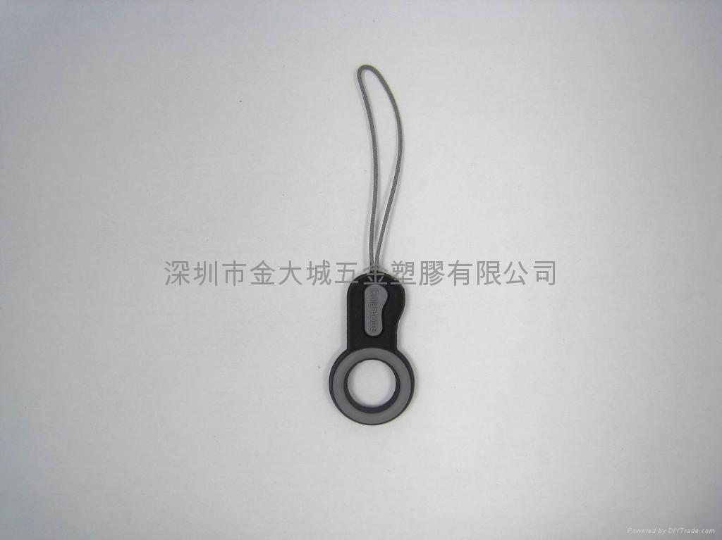 PVC软胶手提电话挂饰,塑胶手机挂件 1