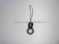PVC软胶手提电话挂饰,塑胶手机挂件