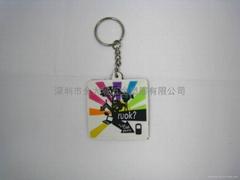 軟質PVC鑰匙圈