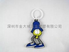 矽胶钥匙圈