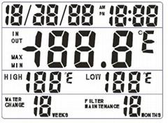鱼缸温度计IC