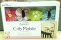 music mobile crib