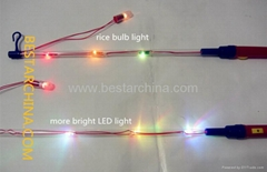 electric lantern stick 3 LED flashing light