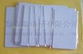 RFID HF 13.56Mhz White Card