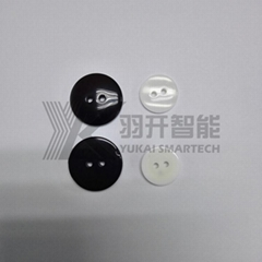 Long Distance HF/UHF Rfid Tags Small Size Button Cheap Price For Laundry Tag lab