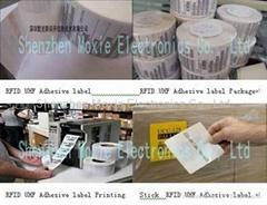 RFID UHF EPC GEN 2 label