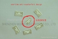 RFID UHF EPC GEN 2 Fragile Paper Tag