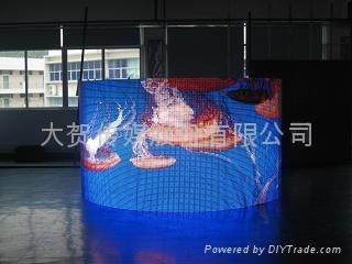 南京LED全彩電子顯示屏 1