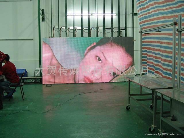 南京LED全彩電子大屏幕 1