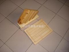 chopping board & knife block