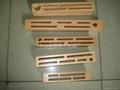 Rubber wood knife block