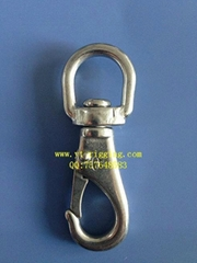 stainless swivel eye snap hook