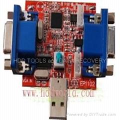 USB LCD programmer