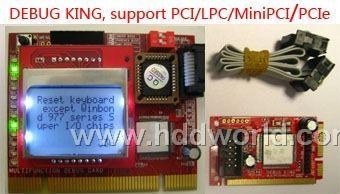 Motherboard Debug Card with LCD for laptop and desktop  1