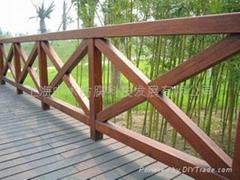 进口防腐木材