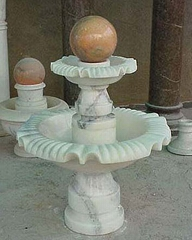 中国喷泉风水球石雕雕塑