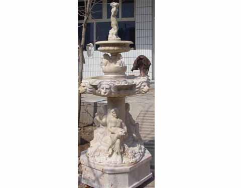 杭州大理石漢白玉石雕噴泉雕刻 1