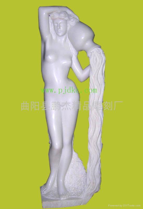漢白玉石雕雕塑 1