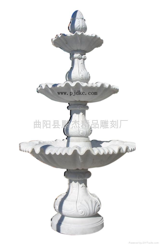 杭州漢白玉石雕噴泉雕刻 1