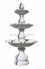 杭州汉白玉石雕喷泉雕刻