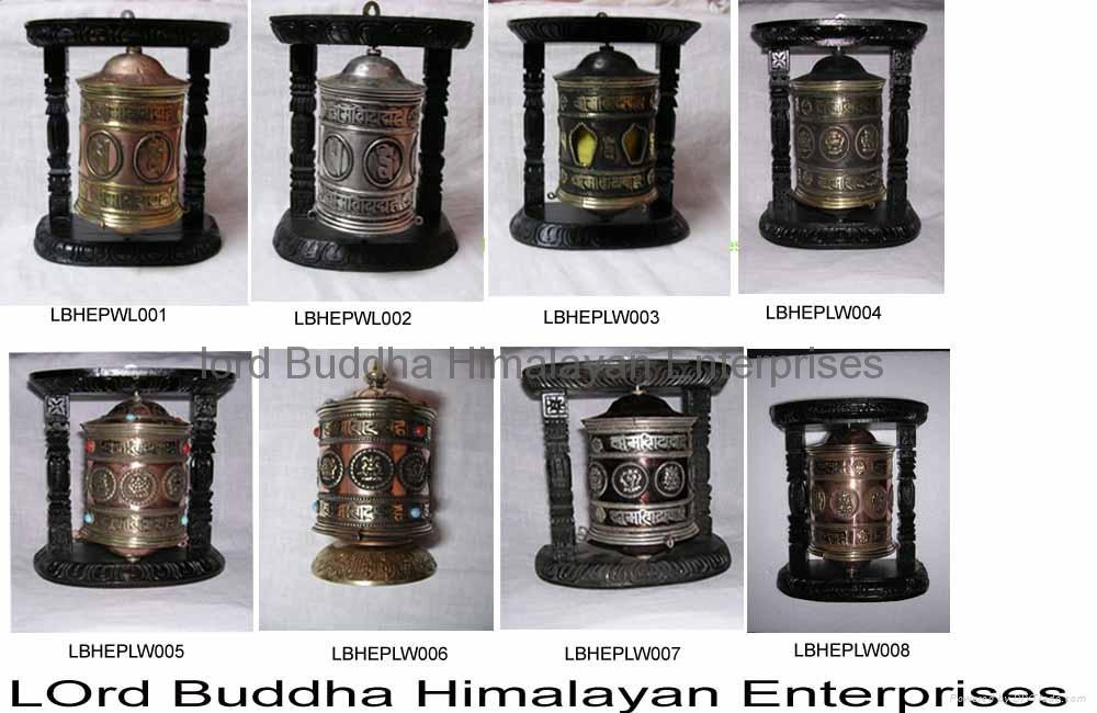 Table Stand or Hanging Prayer Wheel