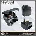 2013 Hot Selling UK Plug Adaptor with EU