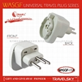 2013 Hot Selling 10 Ampere Multi Socket Plug for Swiss Hotel Accessories  3
