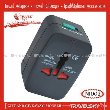 2013 Unique Universal Adapter Plug with Compact Design For Custom Gifts 1