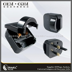 High Quality France to UK Plug Adapter with BS1363