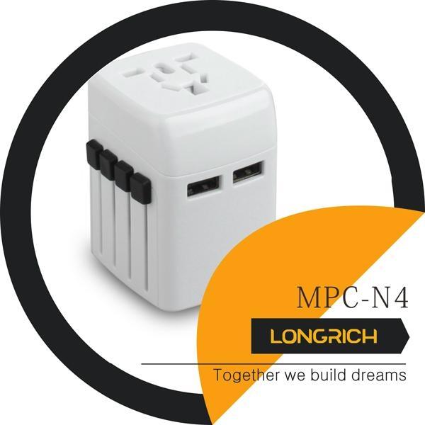 Longrich Cool Design Universal Worldwide Travel adapter MPC-N4 1