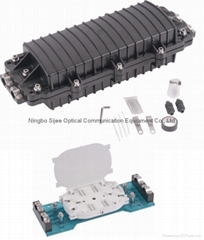 Horizontal Type Fiber optic Splice Closure, Joint Box, Fiber Optic Enclosure