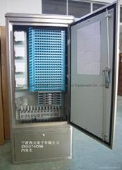288芯不鏽鋼光纜交接箱