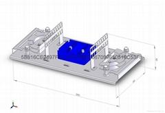 PLC Splitter Fiber Optical Splice Closure