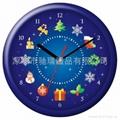 Xmas Gift Promation Clock