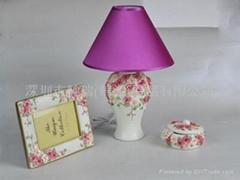 Fabric household lighting
