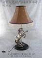 奔馬造型樹脂臺燈 2