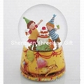 100MMPOLY/陶瓷底座精品水球 3