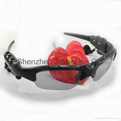 Fashion creative MP3 bluetooth glasses