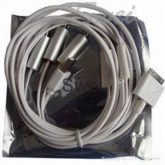 ipad iPhone iPod AV Video Cable