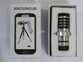 12X Manual Focus Telephoto Lens For