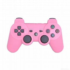 Colored Wireless Controller With Charging Cable For PS3